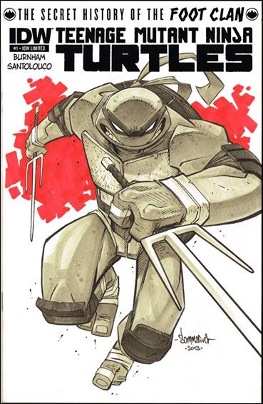 Teenage Mutant Ninja Turtles: The Secret History of the Foot Clan 1-J by IDW