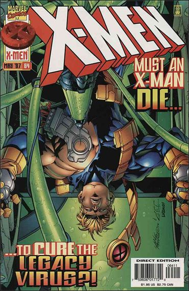 X-Men (1991) 64-A by Marvel