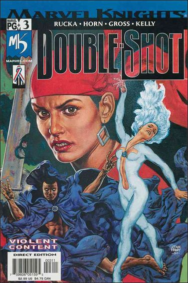 Marvel Knights Double-Shot 3-A by Marvel