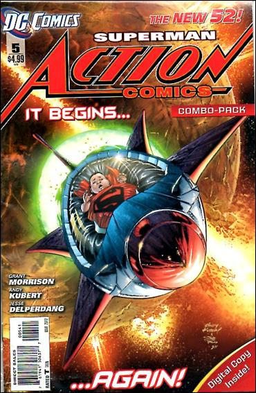 Action Comics (2011) 5-C by DC