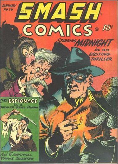 Smash Comics (1939) 39-A by Quality
