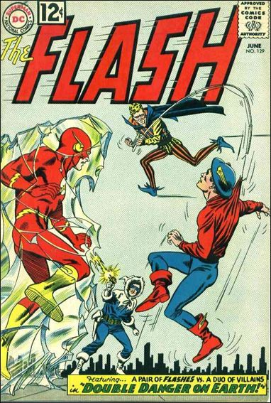 Flash (1959) 129-A by DC