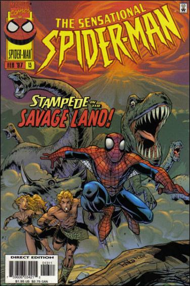 Sensational Spider-Man (1996) 13-A by Marvel