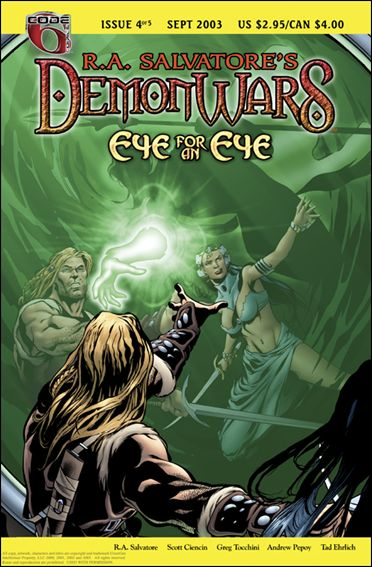 R.A. Salvatore's DemonWars: Eye for an Eye 4-A by CrossGen