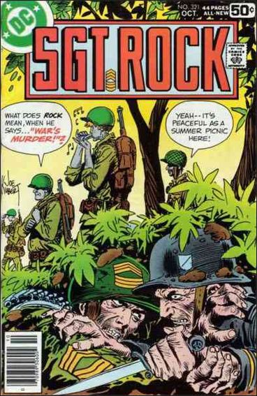 Sgt. Rock (1977) 321-A by DC