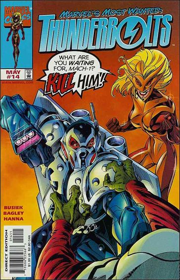Thunderbolts (1997) 14-A by Marvel