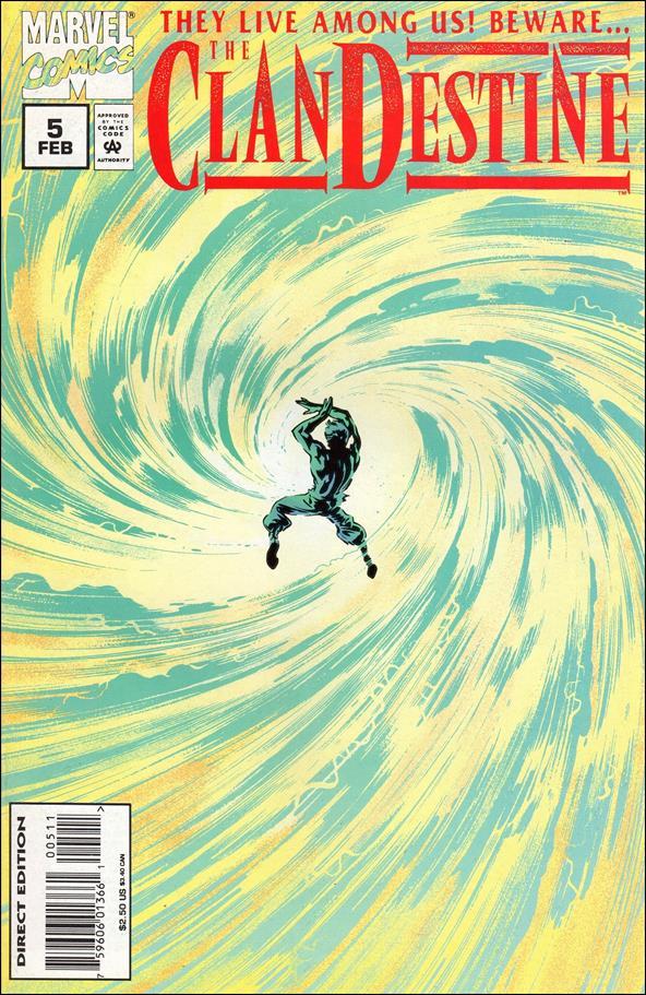 ClanDestine (1994) 5-A by Marvel