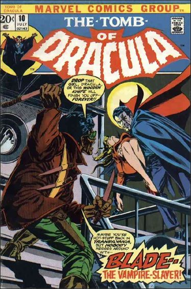 Tomb of Dracula (1972) 10-A by Marvel