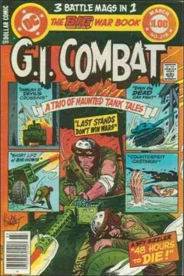 G.I. Combat (1952) 218-A by DC