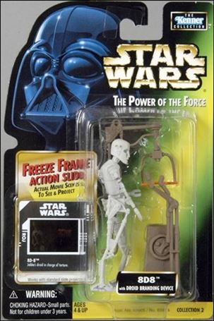 """Star Wars: The Power of the Force 2 3 3/4"""" Basic Action Figures 8D8 w/ Freeze Frame"""