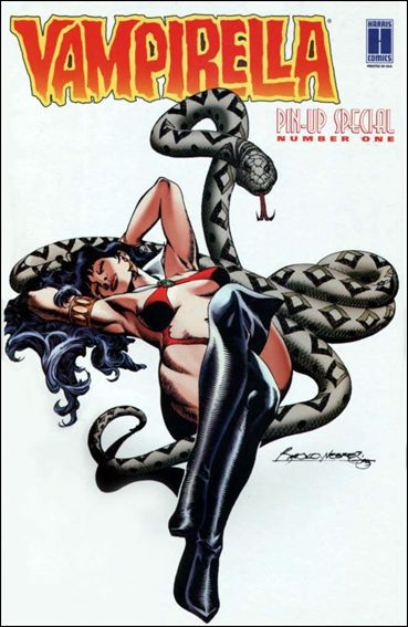 Vampirella: Pin-Up Special 1-B by Harris