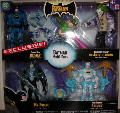 Batman (Toys R Us 4-Packs) Batman Multi-Pack 1 by Mattel