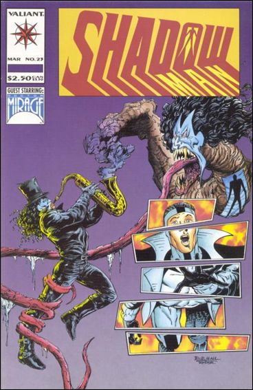 Shadowman (1992) 23-A by Valiant