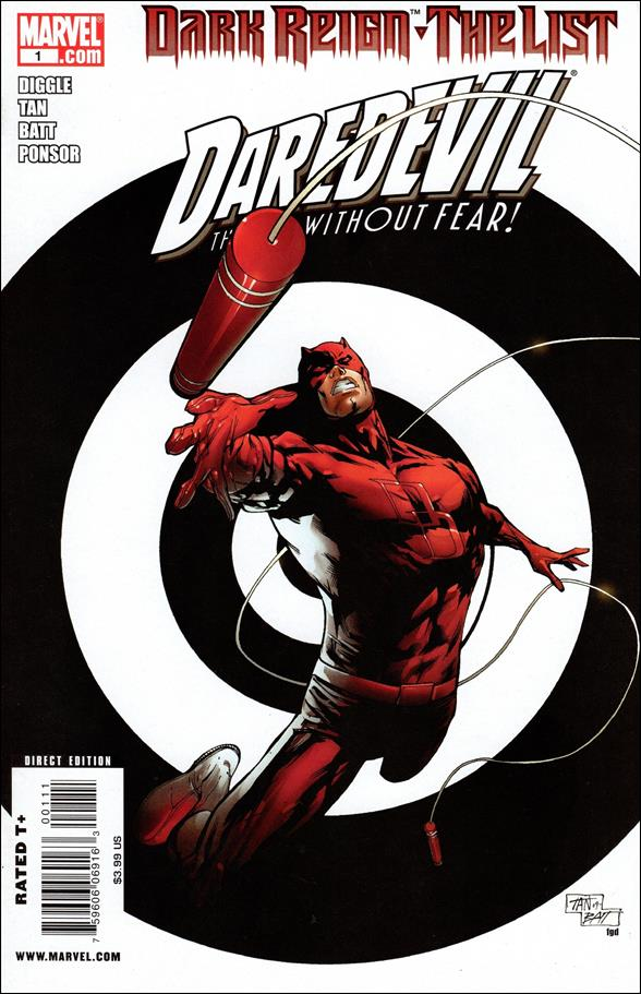 Dark Reign: The List - Daredevil 1-A by Marvel