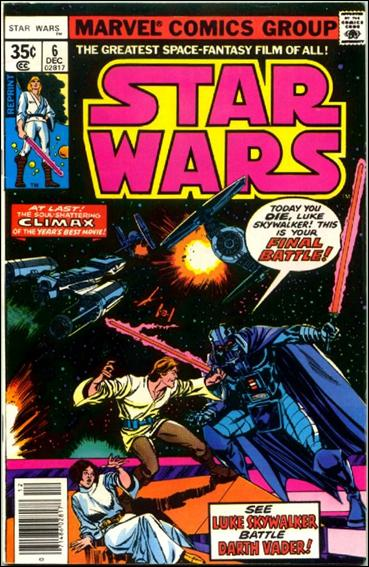 Star Wars (1977) 6-C by Marvel