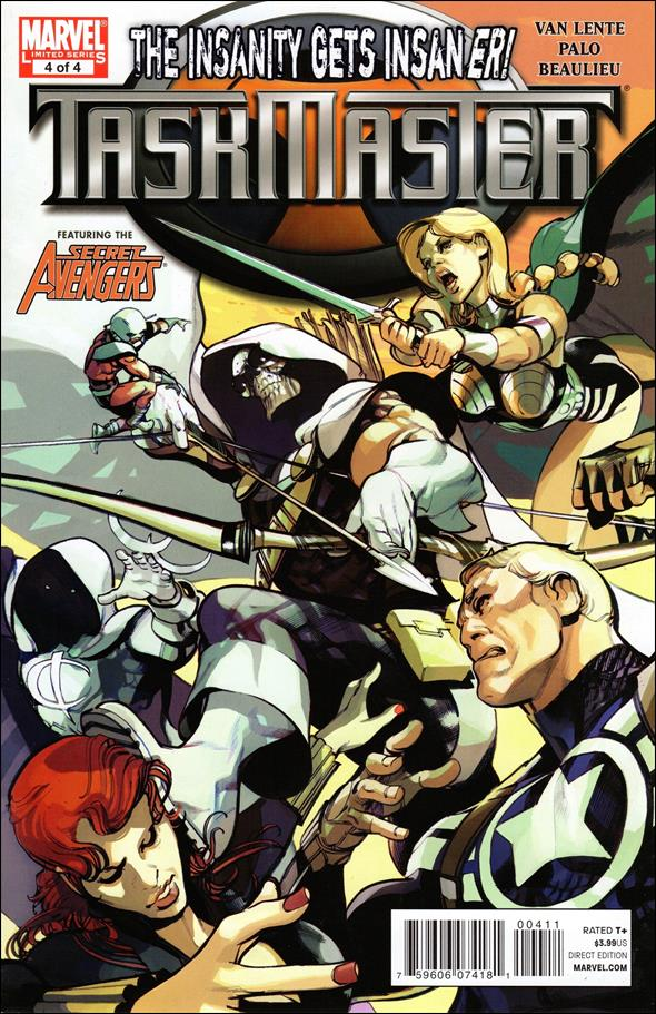 Taskmaster (2010) 4-A by Marvel
