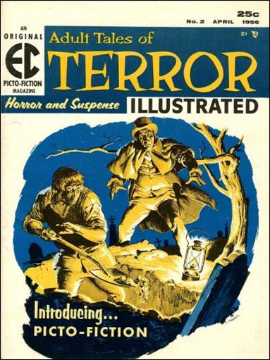 Terror Illustrated 2-A by E.C.