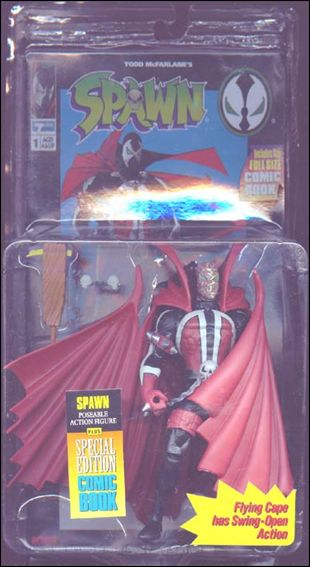 Spawn (Series  1) Spawn (Unmasked) by Todd Toys