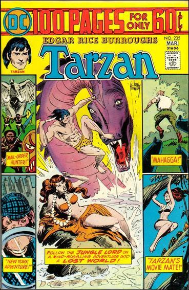 Tarzan (1972) 235-A by DC