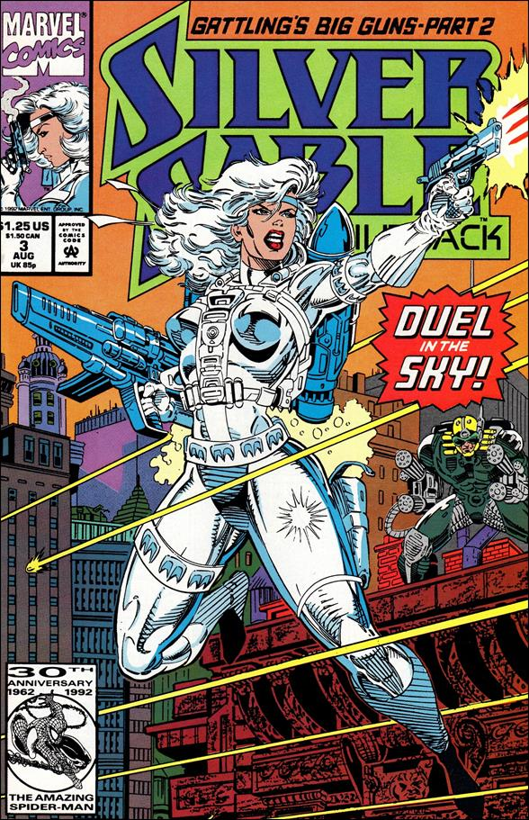 Silver Sable & The Wild Pack 3-A by Marvel