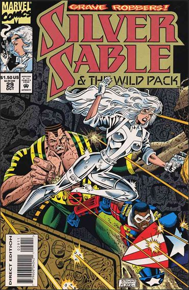 Silver Sable & The Wild Pack 29-A by Marvel