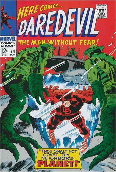 Daredevil (1964) 28-A by Marvel