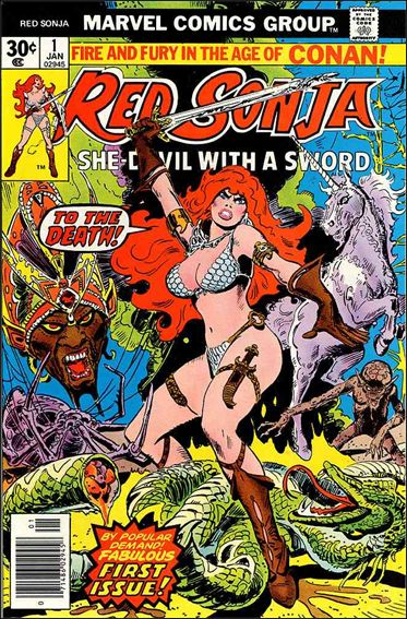 Red Sonja (1977) 1-A by Marvel