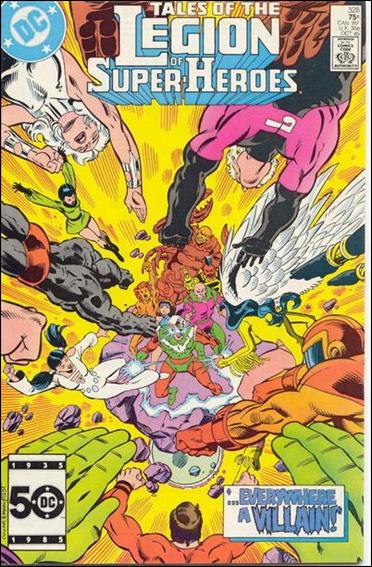 Tales of the Legion of Super-Heroes 328-A by DC