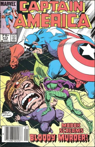 Captain America (1968) 313-B by Marvel