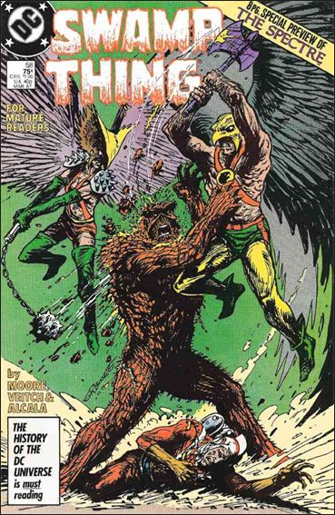 Swamp Thing (1986) 58-A by Vertigo