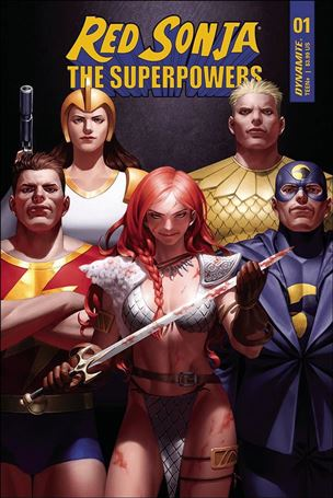 Red Sonja: The Superpowers 1-D