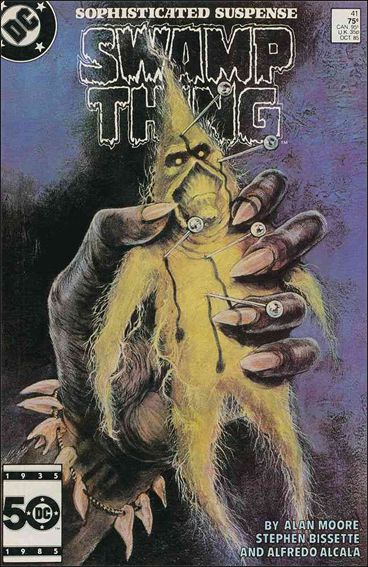 Saga of the Swamp Thing 41-A by DC