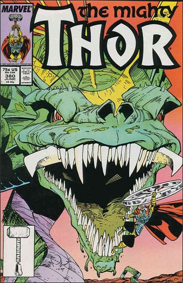 Thor (1966) 380-A by Marvel
