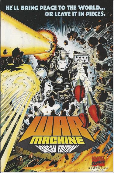 War Machine: Ashcan Edition 1-A by Marvel