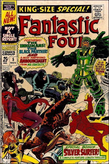 Fantastic Four Annual  5-A by Marvel