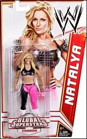 WWE Superstars (2012) Natalya (Canada) by Mattel