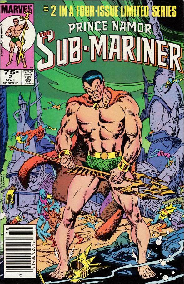 Prince Namor Sub-Mariner 2-A by Marvel