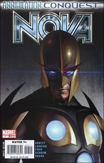 Nova (2007) 7-A by Marvel
