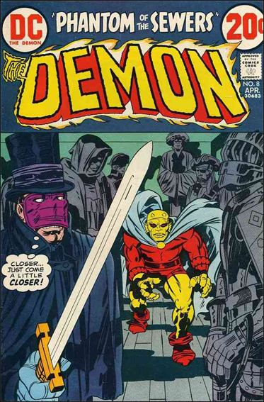 Demon (1972) 8-A by DC