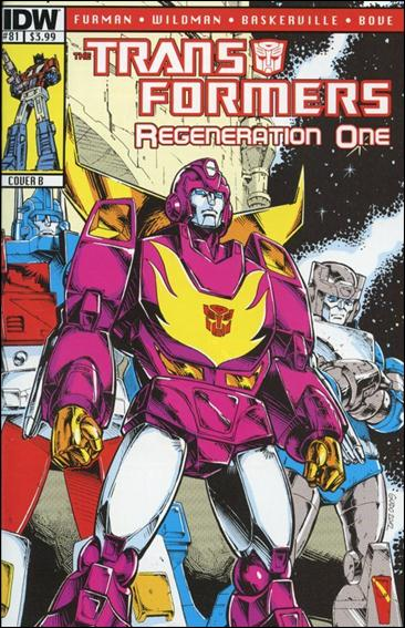 Transformers: Regeneration One 81-B by IDW
