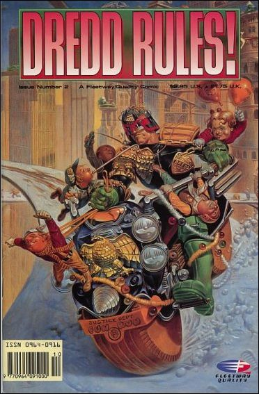 Dredd Rules! 2-A by Fleetway Quality