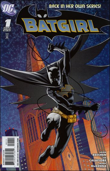 Batgirl (2008) 1-A by DC