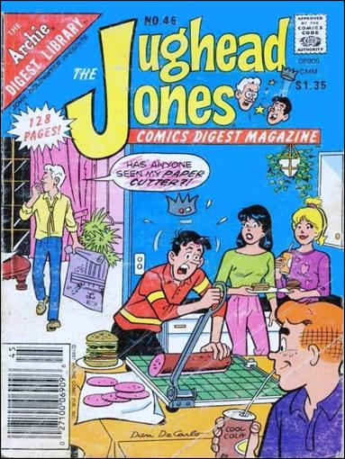 Jughead Jones Comics Digest Magazine 45-A by Archie