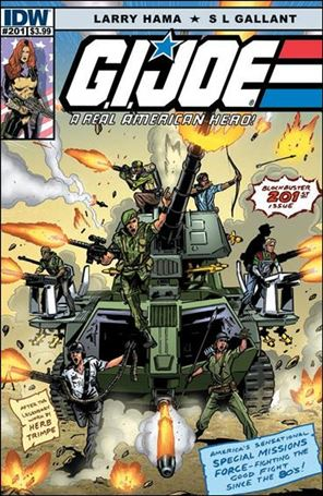 G.I. Joe: A Real American Hero 201-A