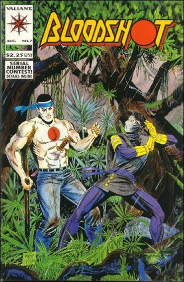 Bloodshot (1993) 7-A by Valiant