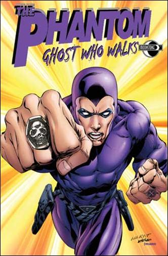 Phantom: Ghost Who Walks (2009) 8-A by Moonstone