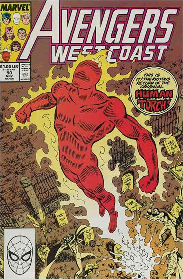 Avengers West Coast 50-A by Marvel