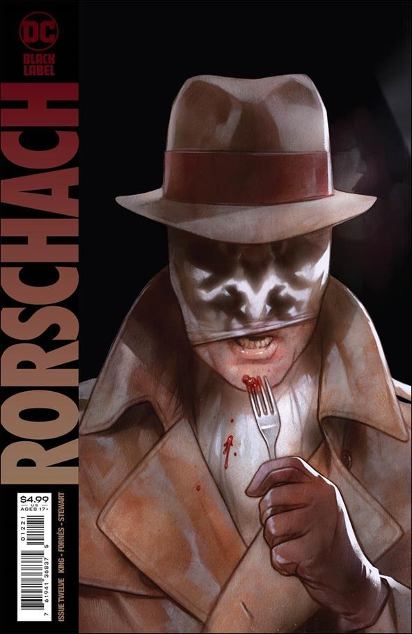 Rorschach 12-B by DC Black Label