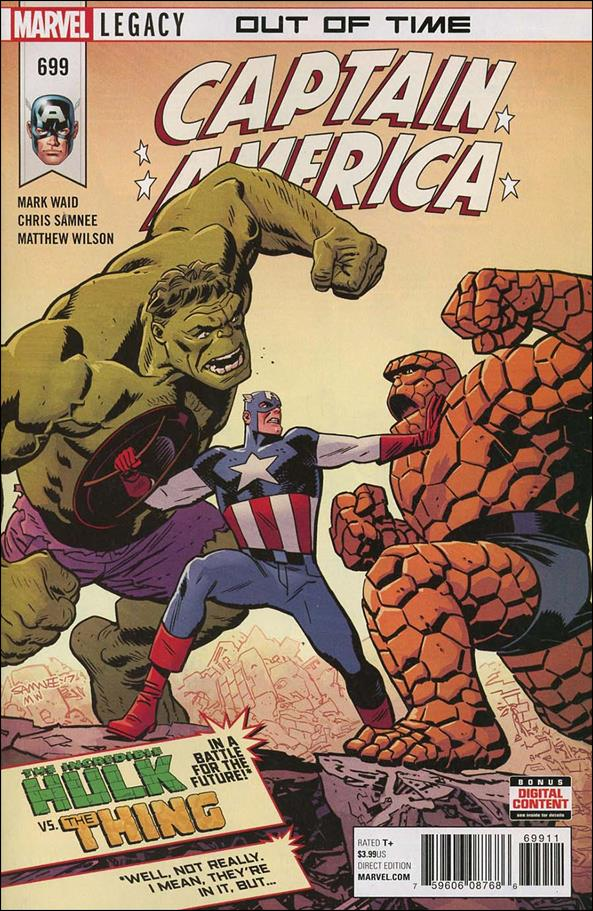 Captain America (1968) 699-A by Marvel