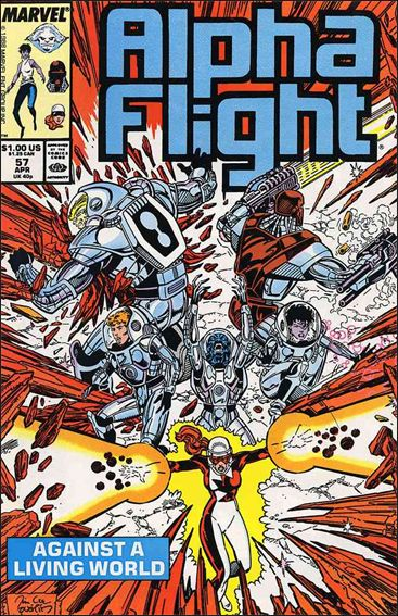 Alpha Flight (1983) 57-A by Marvel